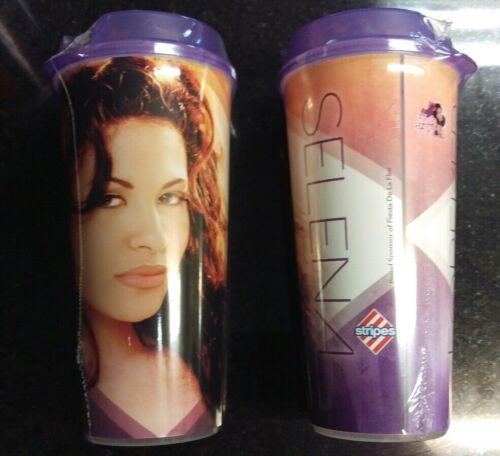 RARE Sold Out!! Purple Selena Quintanilla Stripes 2019 Commemorative Cup NEW