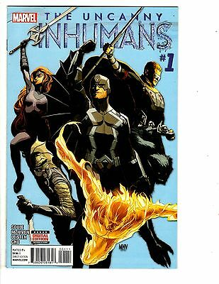 2 The Uncanny Inhumans Marvel Comic Books # 1 2 Soule Mcniven Leisten Gho Wm7 New Varieties Are Introduced One After Another Other Bronze Age Comics