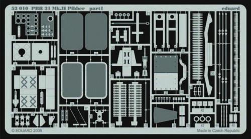 Ätzsatz Neu Eduard Accessories 53010-1:350 Pbr 31 Mk.II Pibber