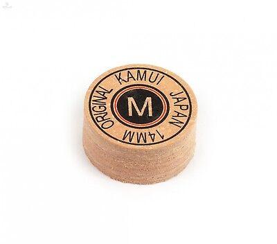 medium Kamui Black Snooker Mehrschichtleder 10mm