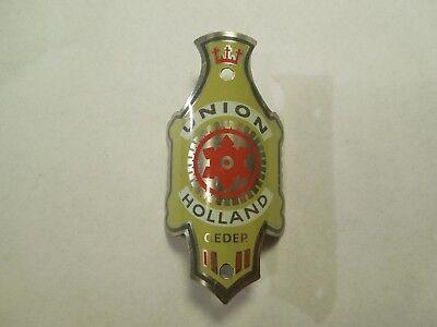 Aldeka Deinze Bicycle Head Badge Vintage Cycling Holland