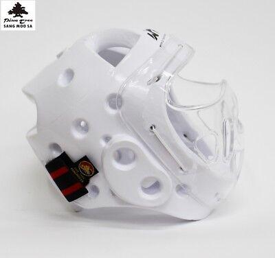 Kopfschutz mit Visier Kampfsport Taekwondo Kampfsporthelm mit Gesichtsschutz   eBay