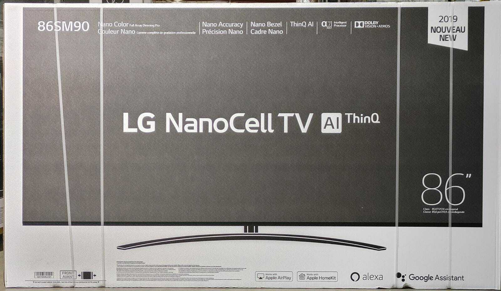 LG 86SM9070PUA Nano 86