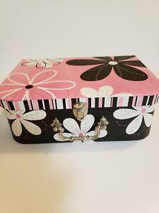 2007 Brother Sister Design Studio Black Pink And White Flower Box Ebay