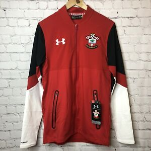 SOUTHAMPTON 2016//17 STADIUM JACKET BY UNDER ARMOUR SIZE MEN/'S LARGE BRAND NEW