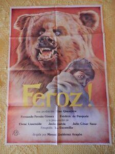 POSTER-CARTEL-ORIGINAL-PEL-CULA-FEROZ-FERNANDO-FERNAN-GOMEZ-F-DE-PASQUAL