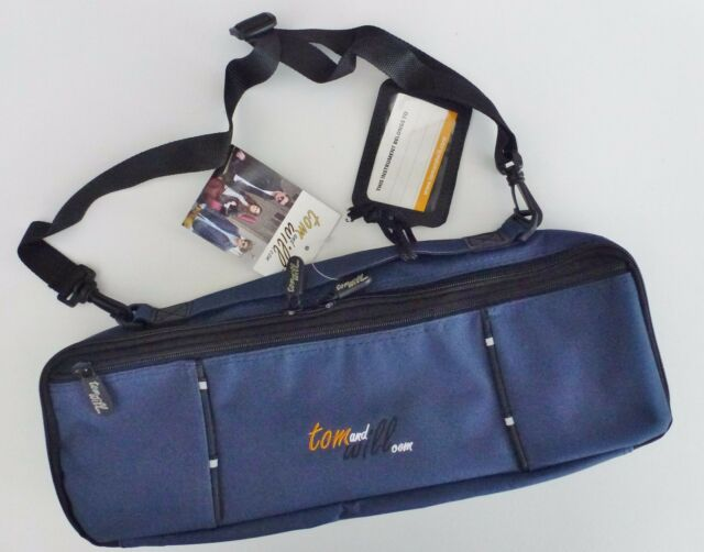 TOM and & WILL FLUTE CASE COVER NAVY BLUE