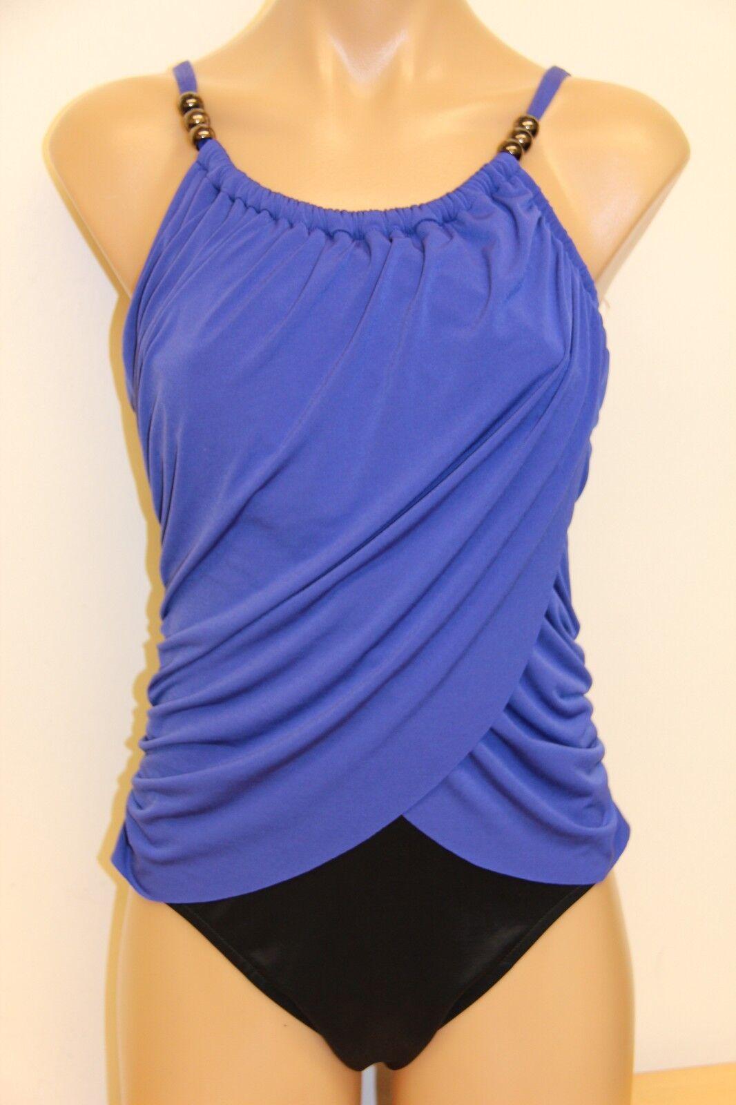 d979dfdaf2 NWT Magic Suit by Miraclesuit 1 one piece bluee Swimsuit twilight  npqdot2814-Swimwear
