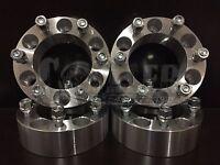 4 X Wheel Spacers 2 Thick Isuzu Rodeo Aluminum Adapter 6x5.5 6 Lug Pickups