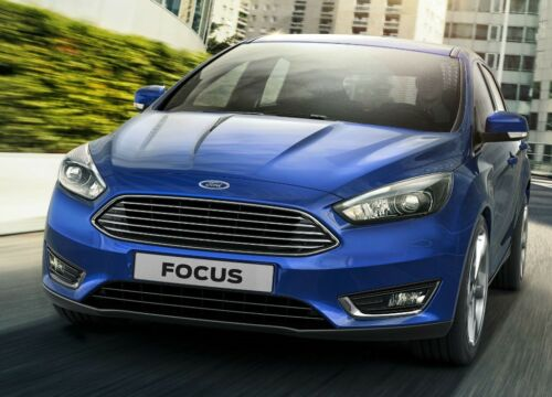 Ford Focus 2015 MK3 Facelift Titanio X PANEL FRONTAL PARACHOQUES Centro Parrilla del cromo
