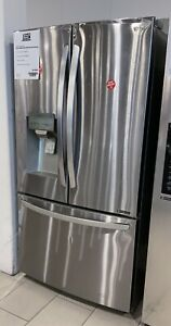 LG 22 Cu. Ft. Stainless Counter Depth French Door Refrigerator- EOLFXC22526S