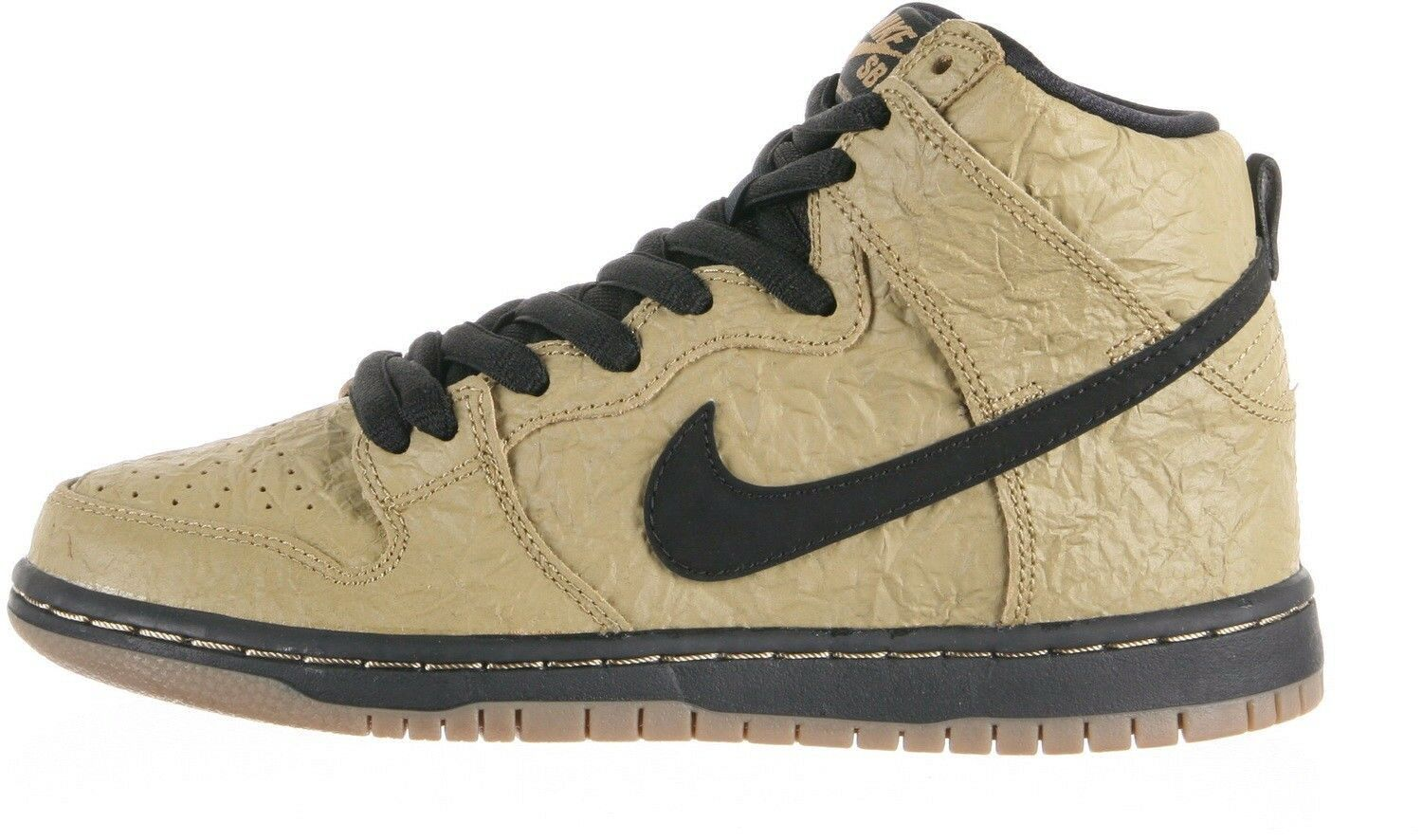 Nike DUNK HIGH PREMIUM SB Filbert noir Gum Dark (D) Brown (D) Dark (566) homme chaussures c57044