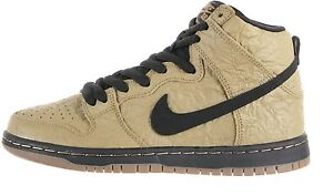 sports shoes 40481 858c7 Image is loading Nike-DUNK-HIGH-PREMIUM-SB-Filbert-Black-Gum-