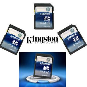 KINGSTON-4GB-8GB-16GB-32GB-SDHC-SD-C4-Scheda-di-memoria-SD4-per-w-casos