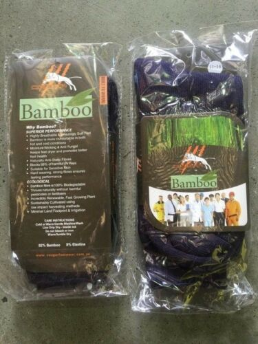 7pr MEN MENS Thick BAMBOO Work Socks Heavy Duty1114size 92% Real Bamboo 7 PAIRS