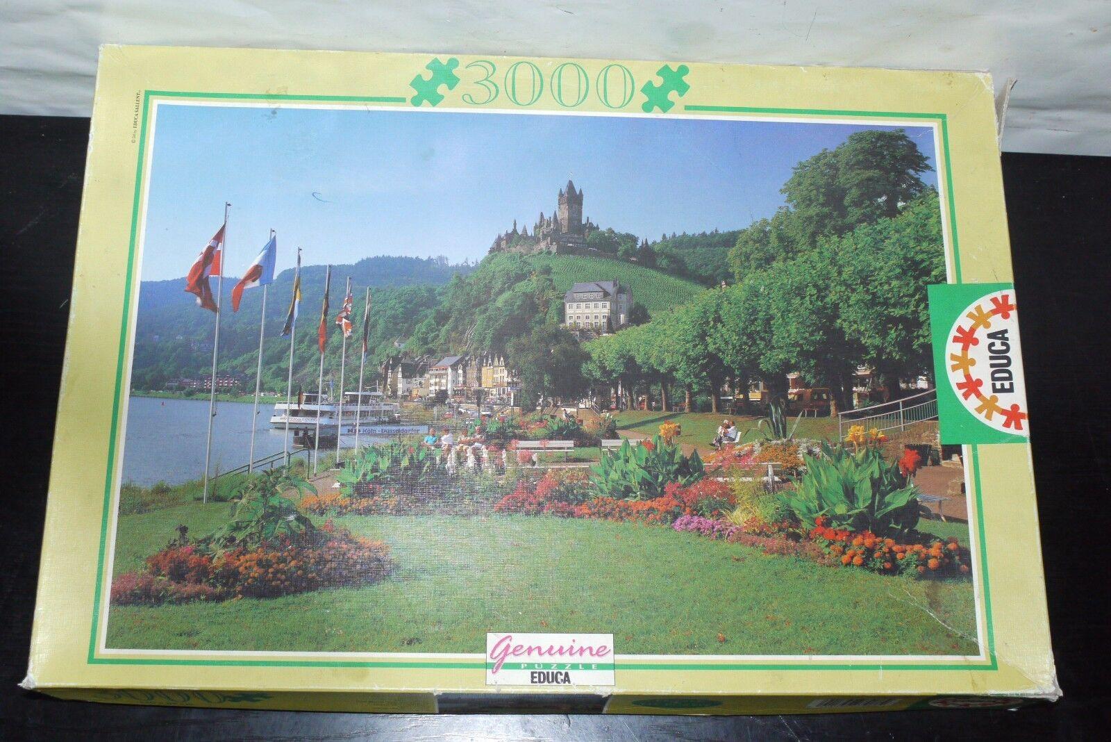 Bildungs - puzzle auf cochen deutschland 3000 pcs   7966 120x85 cm