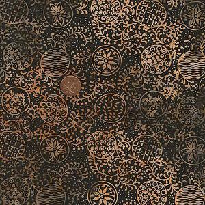 Timeless-Treasures-Tonga-Batik-B1665-Ginger-Black-Tan-100-Cotton-Fat-Quarter