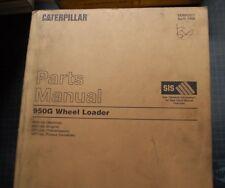 Cat Caterpillar 950g Wheel Loader Parts Manual Catalog 4bs 1998 Rubber Tire Oem