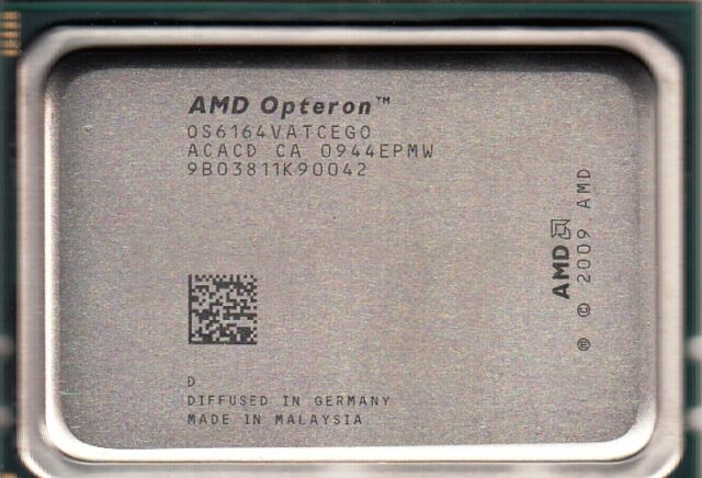 AMD OPTERON 6164 HE ACACD 1.7GHZ 12MB L2 6MB L3 12-CORE SOCKET G34 (TRAY) - NEW!