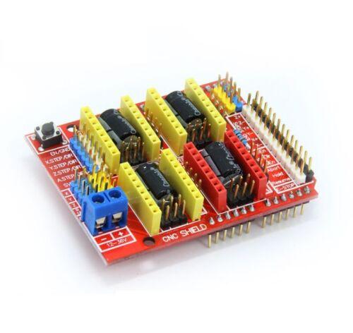 Arduino Uno R3 CH340G 4PC A4988 StepStick GRBL CNC Shield V3 Expansion Board