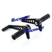Universal Rearsets Foot Pegs Bobber Cafe Racer For Honda Cb350 Cb450 Cb550 Cb750