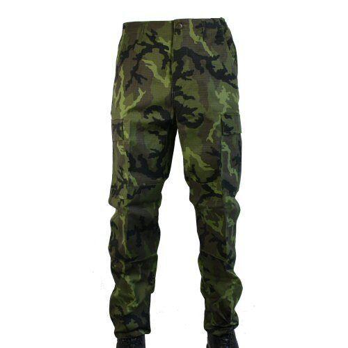 Military verde Ripstop militari Mfh Camo di dell'esercito Bdu Pantaloni M95 Combat da 0Awfnq