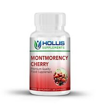 60 Tart Montmorency Cherry Capsules High Strength Gout Relief Antioxidant