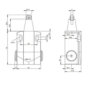PC00012836 Slide Top Box /'Banana Slug/' Wooden Pencil Case