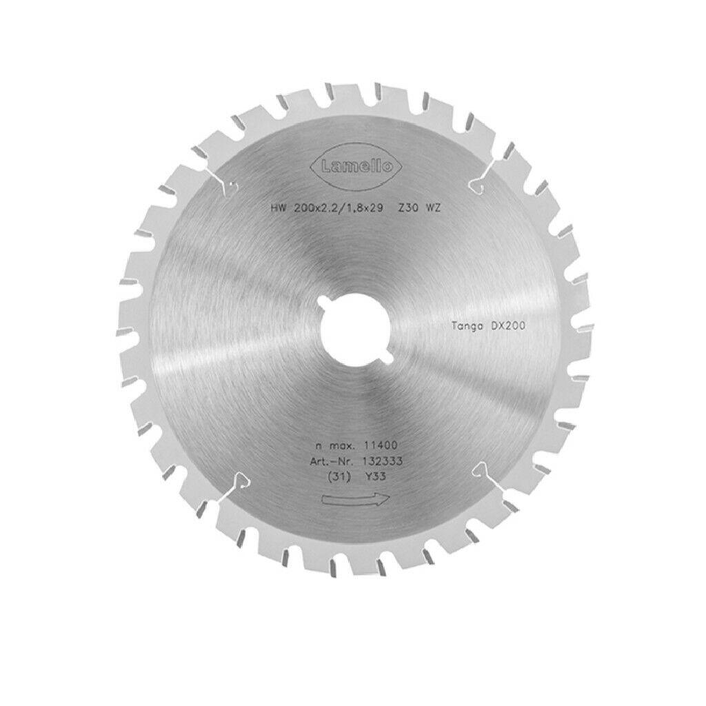 Lamello Sägeblatt für Tanga DX200 D.200mm Z30 Schnellspannaufnahme 132333