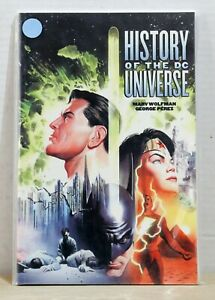 DC-TPB-Graphic-Novel-History-of-the-DC-Universe-By-Marv-Wolfman-George-Perez-NM