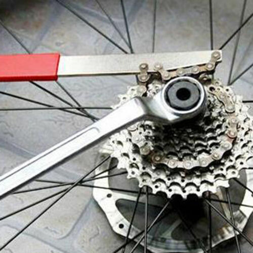 US MTB Cycle//Bike Freewheel Chain Whip Sprocket Cassette Lockring Remover Tool