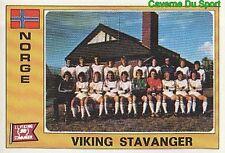 208 TEAM VIKING STAVANGER NORWAY NORGE FIGURINE STICKER EURO FOOTBALL 76 PANINI