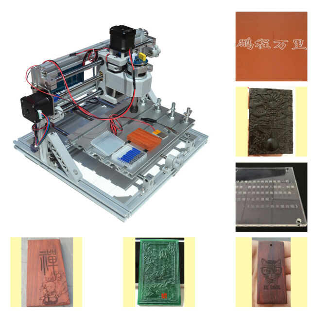 Diy Cnc Router Kits 2418 Grbl Control 3 Axis Plastic Acrylic Pcb Pvc
