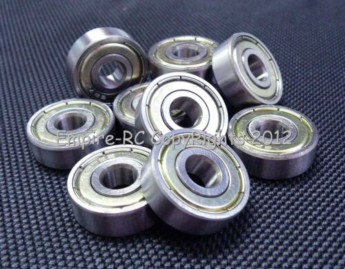 Double Metal Shielded Ball Bearing Bearings 627z 7*22*7 7x22x7 mm 25 PCS 627ZZ