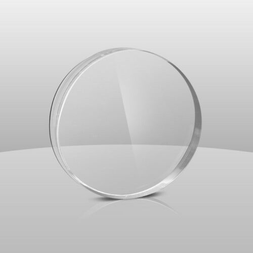 "3//32/"" PLASTIC SHEET CIRCLE DISC 10/"" DIAMETER CLEAR ACRYLIC PLEXIGLASS  0.090/"""