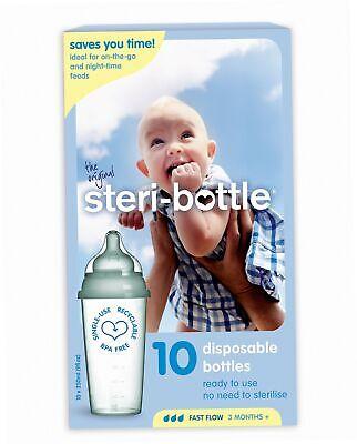 10stück UnermüDlich Steri-bottle Fläschchen Baby