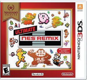 Ultimate NES Remix (Nintendo 3DS, 2014) (Nintendo Selects) BRAND NEW