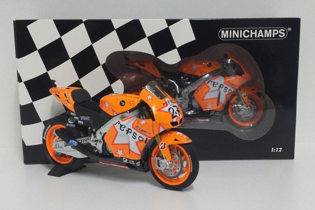 MINICHAMPS CASEY STONER 1 12 MODEL MOTOGP HONDA RC212V REPSOL GP ARAGON 2011