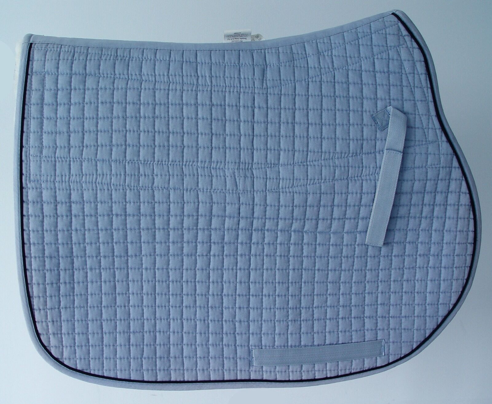 Sheepskin AP Pad, Detachable, Spine Channeled, High Wither, EquuFelt, Baby blu
