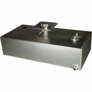 OBP 8 Gallon Square Aluminium JIC Fuel Tank Hole (OBPFTSSBJIC03)