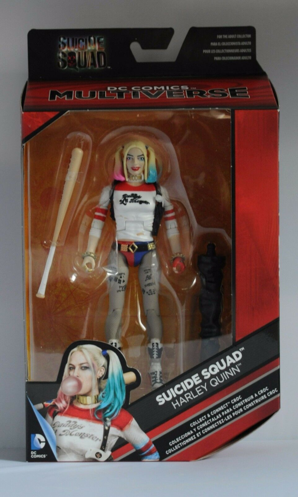 DC MULTIVERSE SUICIDE SQUAD HARLEY QUINN ACTION FIGURE BOXED