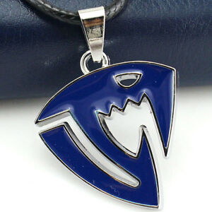 Imported From Abroad Fairy Tail Collar Necklace With Pendant Logo Blue Fashion Jewelry