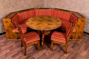 Voglauer Anno 1600 Essecke Essgarnitur Eckbank Tisch Stühle ... Esszimmer Eckbank Voglauer