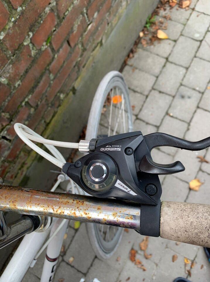 Herrecykel, Shimano SCO, 7 gear