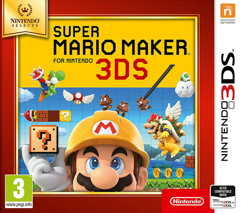 3DS Super Mario Maker - Nintendo Selects (new)