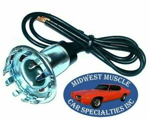 Chevy GM tail light signal park stop bulb socket wiring harness lamp 1pcs double