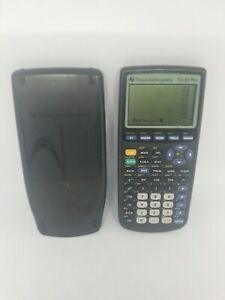Texas-Instruments-TI-83-Plus-Graphing-Calculator-with-Cover-Tested-FREE-SHIPPING