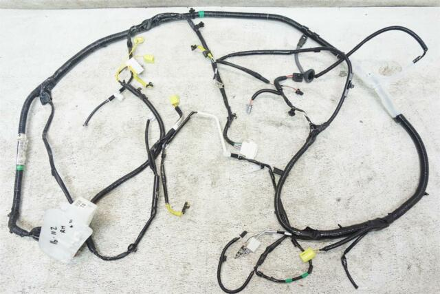 2015 Toyota Highlander Le 3 5l Floor Wire Harness 82161
