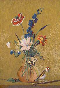 Tapisserie-Nature-morte-Decoration-murale-tapisserie-style-gobelin-Nature-morte