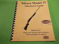Takedown Manual Guide Ithaca Model 37 Pump Shotgun, Step By Step Instructions